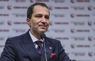 Yeniden Refah Partisi Genel Başkanı Erbakan, İl...