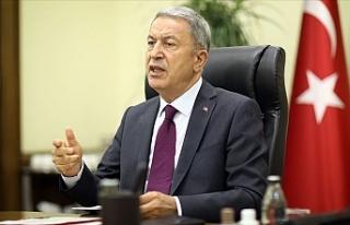 """Akar: """"Ermenistan'ın Karabağ'ı işgali..."""