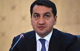 Azerbaycan Cumhurbaşkanı Müşaviri Hacıyev: Sivillere...