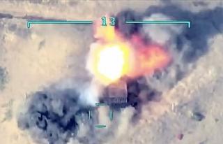 Azerbaycan ordusu, Ermenistan'ın 10 tankını...