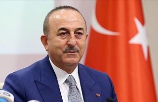 """Çavuşoğlu: """"Ateşkes için Ermenistan işgal..."""