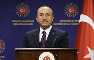 """Çavuşoğlu: """"Ermenistan doğrudan sivilleri..."""