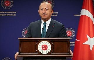 """Çavuşoğlu: """"Gerçekleri yüzlerine söyleyince..."""