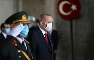 """Erdoğan: """"Birlik beraberlik ve kardeşlik içinde..."""