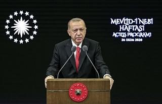 """Erdoğan: """"Buradan milletime sesleniyorum, Fransız..."""