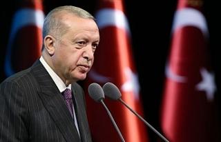 """Erdoğan: """"Cumartesi günü yeni rezerv miktarını..."""
