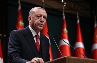 """Erdoğan: """"Devletimizin tüm imkanlarıyla vatandaşlarımızın..."""