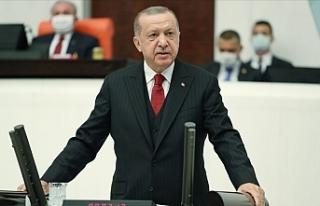 """Erdoğan: """"Hakkaniyet temelinde çözülmesi..."""