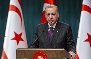 """Erdoğan: """"Maraş'ın bütünüyle kullanıma..."""