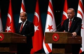 """Erdoğan: """" """"Maraş'ın KKTC toprağı..."""