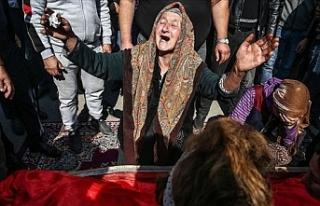 Ermenistan'ın Gence'de füze ile öldürdüğü...