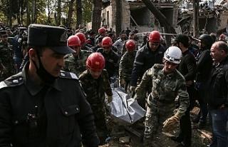 Ermenistan'ın Gence'ye düzenlediği saldırıda...