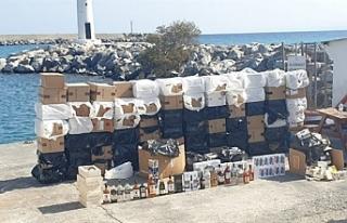 Girne'den ayrılan tekneye operasyon düzenlendi