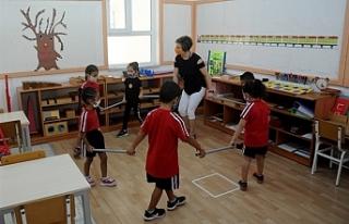 İlkokul 1 ve 2. sınıflar ile okul öncesi okullar...