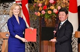 Japonya ile İngiltere arasında Serbest Ticaret Anlaşması...