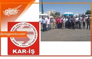 KAR-İŞ öğrenci taşımacılığını durdurdu
