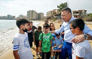 Oktay'ın Maraş ziyaretini BM'ye şikayet...