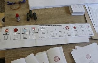 Seçime katılım oranları açıklandı