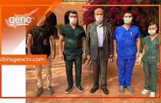 Tatar, Ankara öncesi PCR testi yaptırdı
