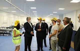 Tatar'dan Pandemi Hastanesine ziyaret