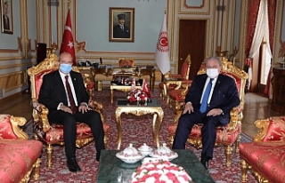 Tatar, TBMM Başkanı Şentop ile görüştü