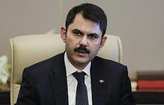 TC Çevre ve Şehircilik Bakanı Murat Kurum KKTC'ye...