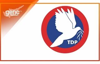 """TDP: """"Kendi kendini yönetme mücadelesi kararlılıkla..."""