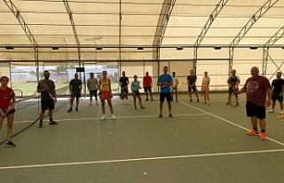 Teniste Antrenörlük kursu 3.gününde
