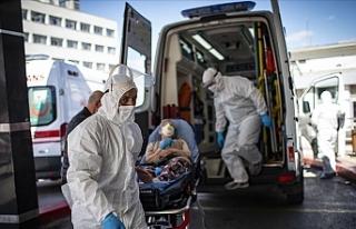 Türkiye'de son 24 saatte 2 bin 319 kişiye hastalık...