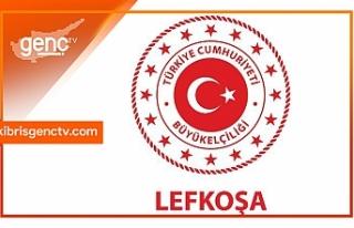 Türkiye'nin Lefkoşa Büyükelçiliği'nden...