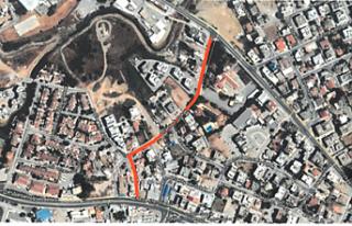 4. Sokak'ta kanalizasyon çalışması