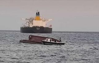 Akdeniz'de Yunan tankeri ile Türk balıkçı...