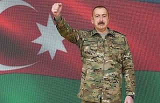 """Aliyev: """"Ermenistan tazminat ödeyecek"""""""
