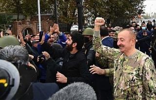 """Aliyev: """"Ermenistan, uluslararası mahkemelerde..."""