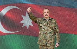 """Aliyev: """"Kritik öneme sahip Şuşa kenti işgalden..."""