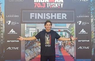 Ares triatletlerinden IronmanTürkiye'de güzel...
