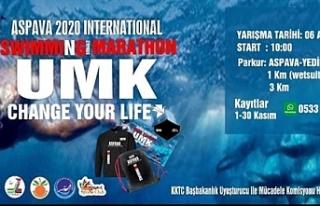 Aspava Uluslararası Yüzme Maratonu 2020