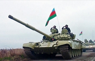 Azerbaycan ordusu 27 yıldır işgal altında bulunan...