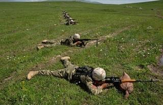 Azerbaycan ordusunun kurtardığı yerleşim yeri...