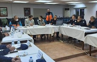 Baybars, Girne ilçesi kriz masası toplantısına...
