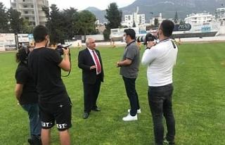 Bein Sports ekibi ülke futbolu için adamıza geldi