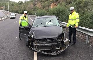 Ciklos'ta kaza... 2 kişi yaralandı