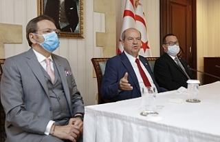 """Cumhurbaşkanı Ersin Tatar: """"Biz artık egemen..."""