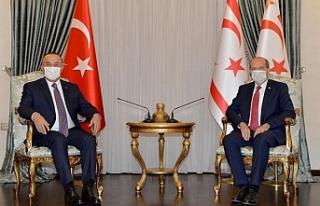 Cumhurbaşkanı Ersin Tatar, Türkiye Dışişleri...