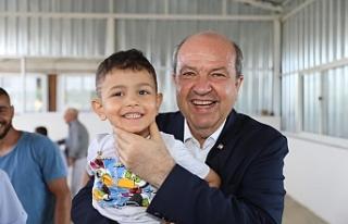"""Cumhurbaşkanı Tatar: """"Çocuklarımız bizlerden..."""