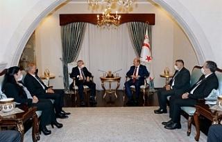 Cumhurbaşkanı Tatar, Kıbrıs Türk Emekli Subaylar...
