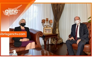 Cumhurbaşkanı Tatar, Spehar'ı kabul etti