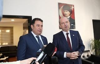 Cumhurbaşkanı Tatar UBP Genel Sekreteri ve Genel...