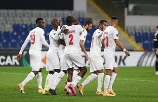 Demir Grup Sivasspor, Avrupa'da ikinci galibiyetini...