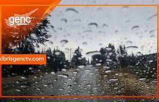 En fazla yağış Girne'de